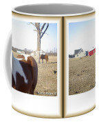 Pony Pose - Gently Cross Your Eyes And Focus On The Middle Image Coffee Mug