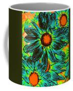 Pop Art Daisies 17 Coffee Mug