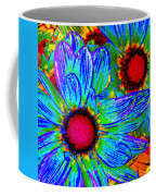 Pop Art Daisies 2 Coffee Mug