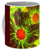 Pop Art Daisies 5 Coffee Mug
