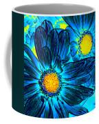 Pop Art Daisies 7 Coffee Mug