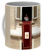 Pope Benedict Xvi B Coffee Mug by Andrew Fare