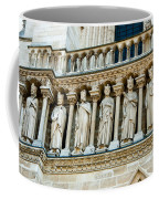 Popes At Notre Dame Cathedral Coffee Mug