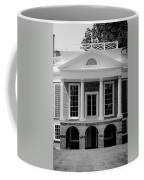 Poplar Forest South Portico Bw Coffee Mug