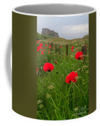 Poppies By The Roadside In Northumberland Coffee Mug