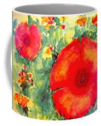 Poppies Face To The Sun Coffee Mug