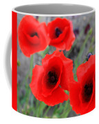 Poppies Of Stone Coffee Mug by Empty Wall