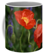 Poppies With Impressionist Effect Coffee Mug