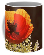 Poppy And Lace Coffee Mug