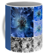 Poppy Blue - Macro Flowers Fine Art Photography Coffee Mug