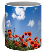 Poppy Flowers 05 Coffee Mug by Nailia Schwarz