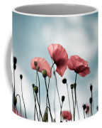 Poppy Flowers 07 Coffee Mug by Nailia Schwarz
