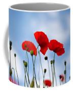 Poppy Flowers 08 Coffee Mug by Nailia Schwarz