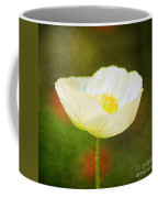 Poppy Of White Coffee Mug