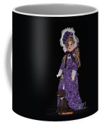 Porcelain Doll - Full View With Puppy Coffee Mug