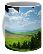Porch View Of Wilsall Valey Coffee Mug