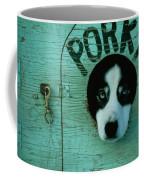 Porky Is One Of Jan Masseks Race Dogs Coffee Mug by Chris Johns