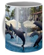 Porpoise Statues   Maui Hawaii Coffee Mug