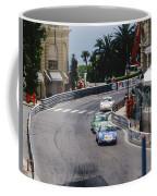 Porsches At Monte Carlo Casino Square Coffee Mug
