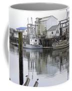 Port Of Nahcotta Coffee Mug by Pamela Patch
