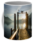 Port On In Sunset Coffee Mug
