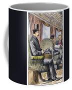 Portable Typewriter, 1889 Coffee Mug