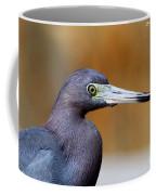 Portait Of A Little Blue Heron Coffee Mug
