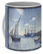 Porte De Cette Les Tartanes Coffee Mug