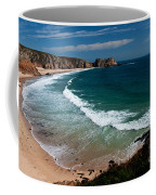 Porthcurnow Beach Coffee Mug