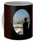 Porthole Silhouette Coffee Mug