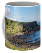 Portnaboe Bay At Giants Causeway Coffee Mug