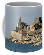 Portovenere's Church And Fortress Coffee Mug