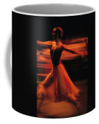 Portrait Of A Ballet Dancer Bathed Coffee Mug
