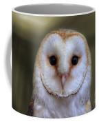 Portrait Of A Barn Owl Coffee Mug