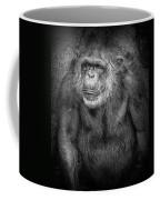 Portrait Of A Chimpanzee Coffee Mug