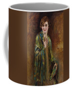 Portrait Of A Girl With A Green Shawl Coffee Mug