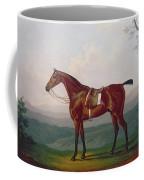 Portrait Of A Race Horse Coffee Mug by Daniel Clowes