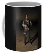 Portrait Of A U.s. Contractor Coffee Mug by Terry Moore