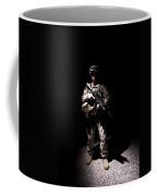Portrait Of A U.s. Marine In Uniform Coffee Mug