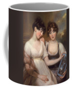 Portrait Of Anne And Maria Russell Coffee Mug