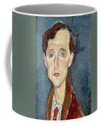 Portrait Of Franz Hellens Coffee Mug