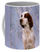 Portrait Of Irish Red And White Setter Coffee Mug