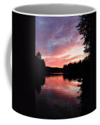Portrait Of Lake Waukewan Coffee Mug