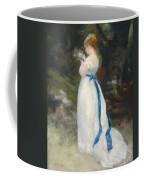 Portrait Of Lise   Coffee Mug by Pierre Auguste Renoir