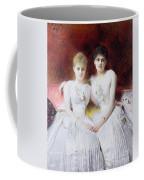 Portrait Of Marthe And Terese Galoppe Coffee Mug