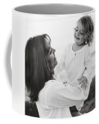 Portrait Of Mother And Daughter Coffee Mug
