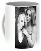 Portrait Of Young Ladies Coffee Mug