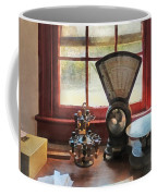 Postage Scale And Rubber Stamps Coffee Mug