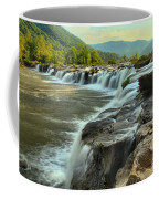 Pouring Over Sandstone Coffee Mug