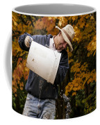 Pouring Wine Coffee Mug by Jean Noren